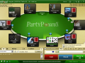 Party Poker Screenshot Table